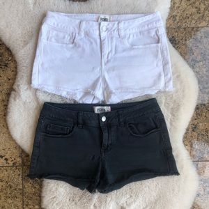 Victoria's Secret PINK Cut Off Jean Shorts 2 Pairs